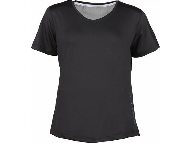 YORK Natalie Camiseta Mujer, negro